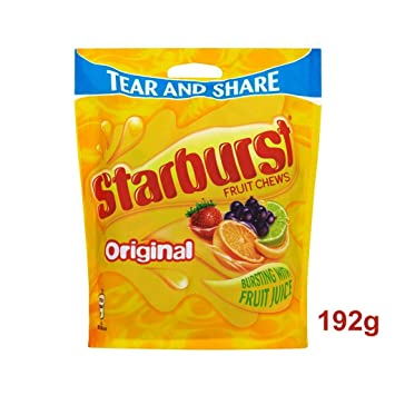 Starburst Fruity Chews 165 Gram