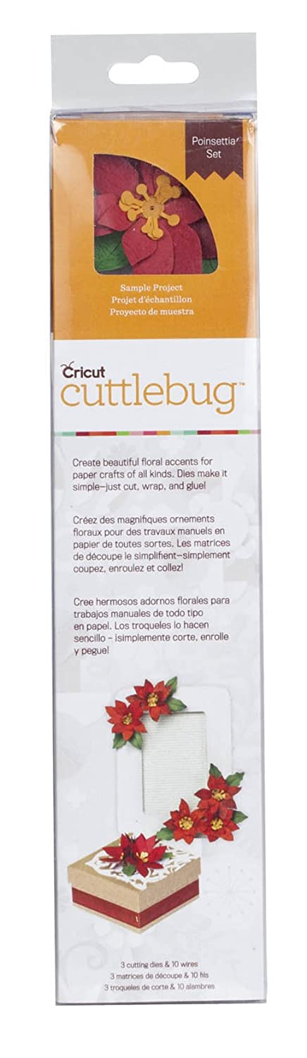 Cuttlebug Quilling Kit, Poinsettia Provo Craft & Novelty 2001417