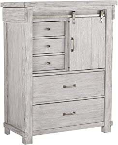 Signature Design by Ashley B740-46 Brashland chests-of-Drawers, White