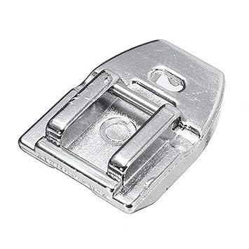 Prensatelas oculto para máquina de coser invisible con cremallera para todos los tipos de vástago bajo
