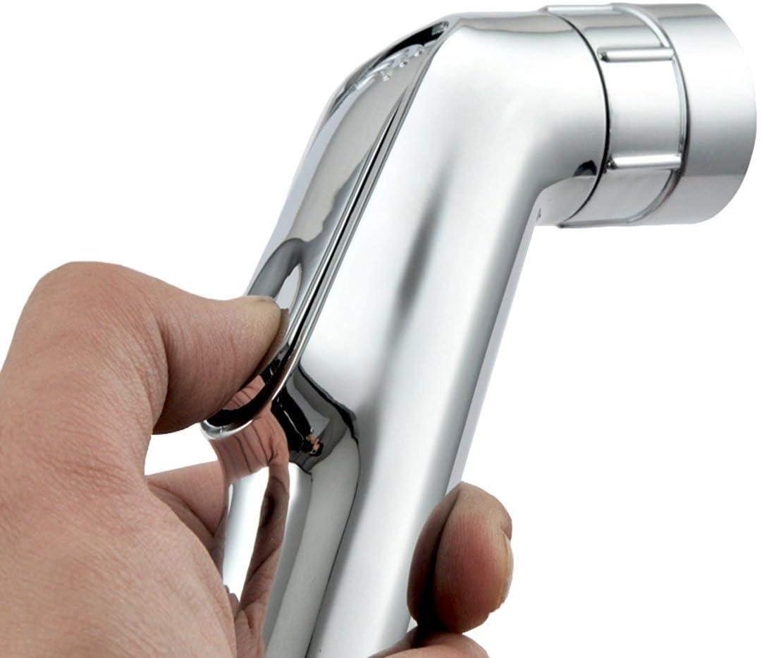 VZOM - Espray de ducha de mano con cabezal de bidé para inodoro, para limpiar el asiento del inodoro y reducir las bacterias: Amazon.es: Bricolaje y herramientas