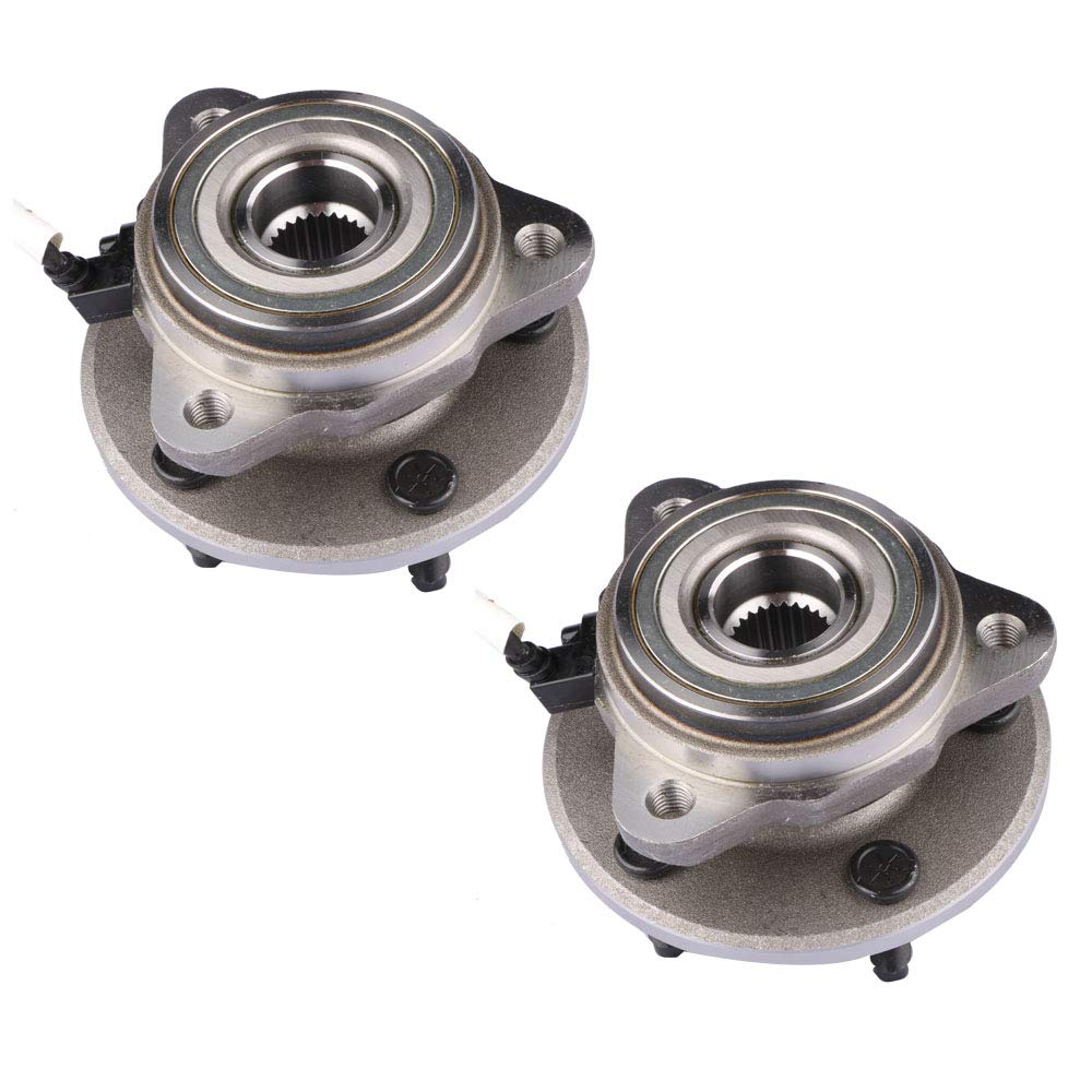 MOSTPLUS Front Wheel Hub Bearing Assembly for 1995 1996 1997 1998 1999 2000 2001 Ford Explorer 4WD & AWD Only Replaces 515051(Set of 2)