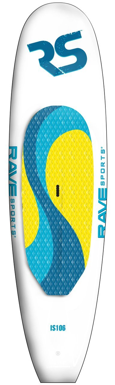 RAVE 2726 Impact PCX High Density Stand Up Paddle Board - 10' 5'' by Rave