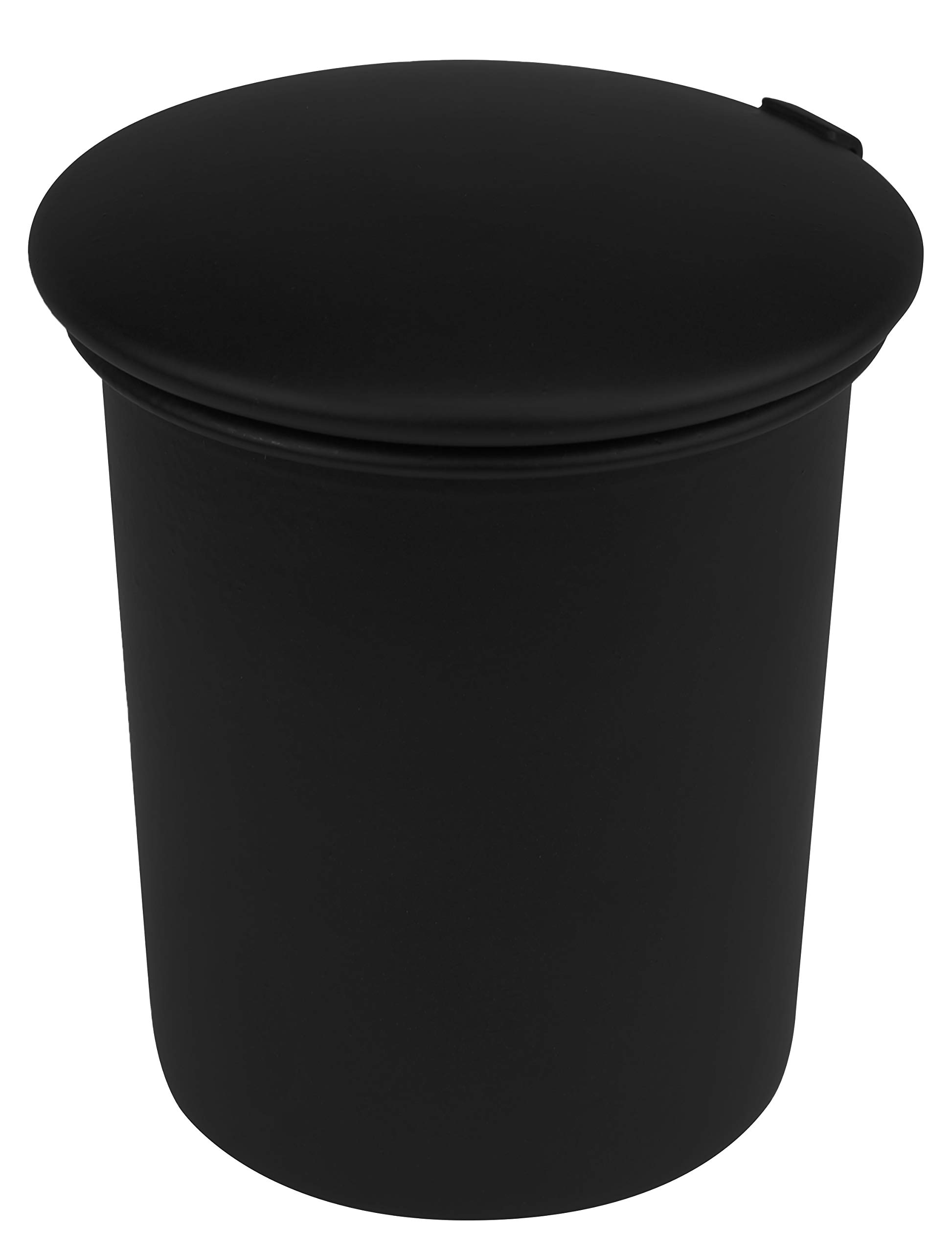 Stinky Cigar Car Ashtray, Spring Clip Holds All Cigar Sizes, Fits Any Standard Cup Holder, Matte Black