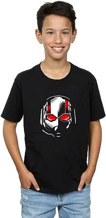Marvel Niños Ant-Man and The Wasp Scott Mask Camiseta