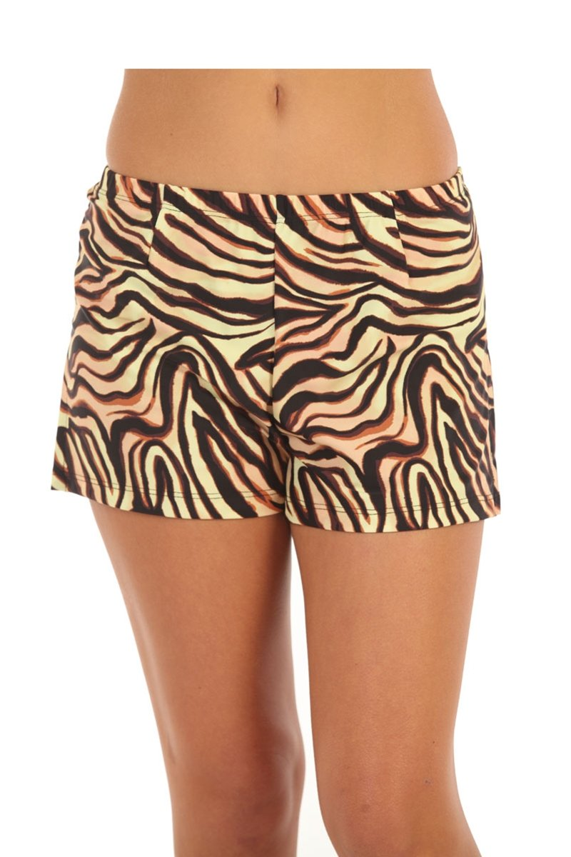 Show No Love Women's Jungle Love Performance Skort in jungle print (size XS)