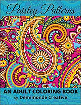 Amazon.com: Paisley Patterns: An Adult Coloring Book ...