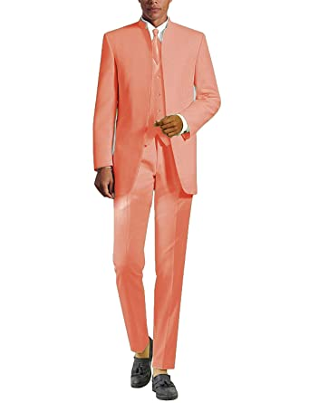 lower price with high fashion designer fashion YYI Uomo Abiti da Sposa 3 Pezzi Tute da Smoking Colletto ...