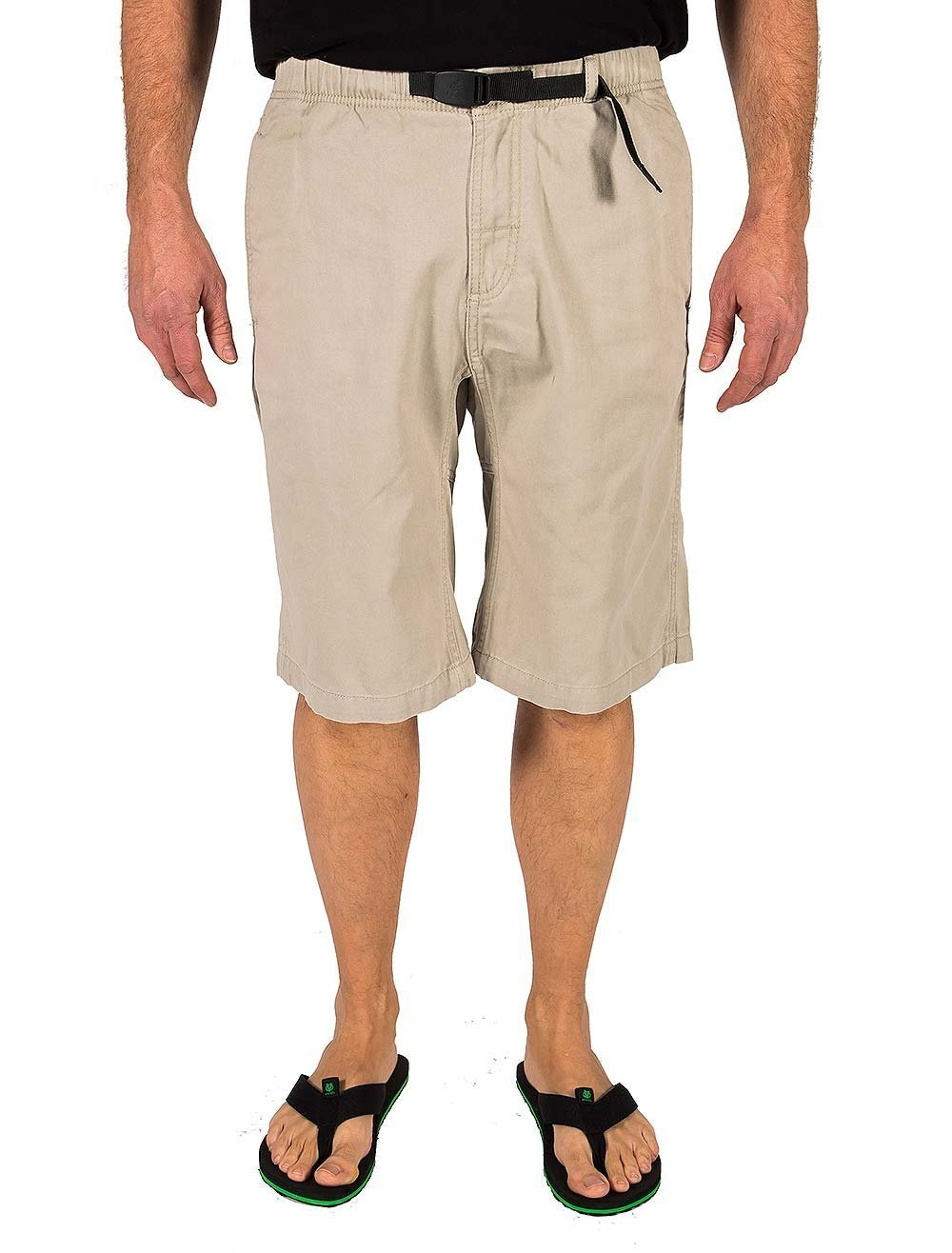 Gramicci Men's Rockin Sport Shorts, Old Stone, Small by Gramicci