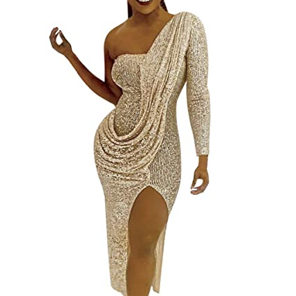 RoSoy /Womens Boho V-Neck Printed Vestito Lungo Maxress Estivo per LEstate