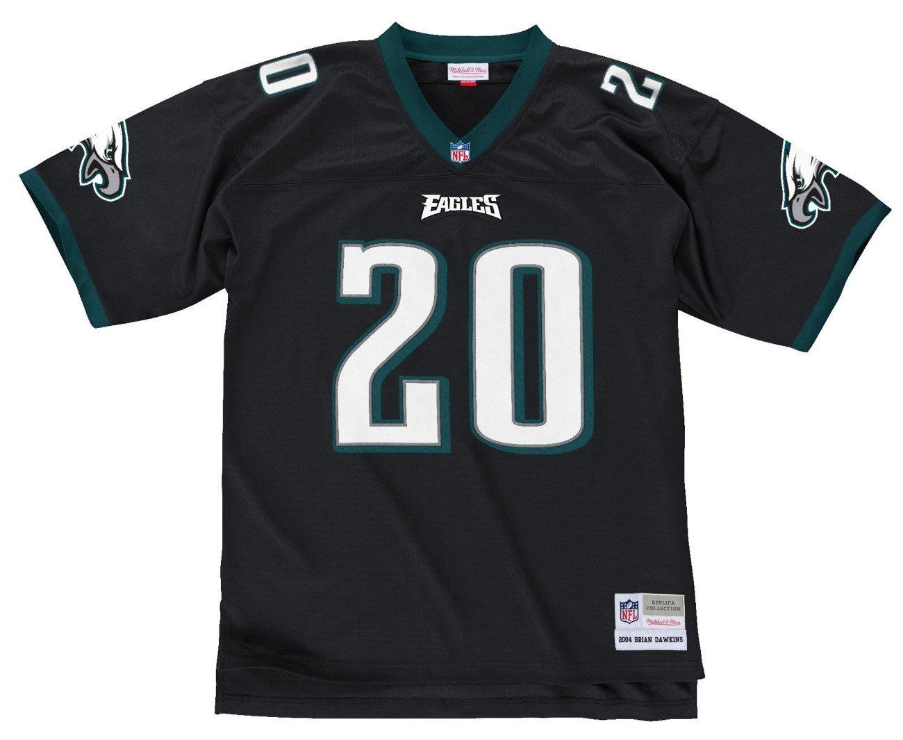 20e9aa351c2 Brian Dawkins Philadelphia Eagles NFL Mitchell & Ness Throwback Premier  Jersey, Jerseys - Amazon Canada