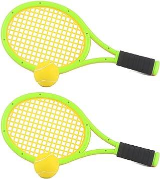 Amazon.com: FenglinTech - Raqueta de tenis elástica para ...