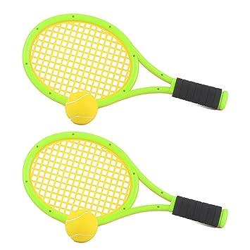 Foxom Badminton Tenis Frontenis Raquetas Niños Deportes Juguete para Exterior Ejercicio Juego, 43*19CM: Amazon.es: Juguetes y juegos