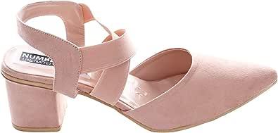 حذاء كاجوال بكعب للنساء