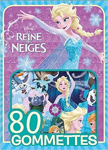 REINE DES NEIGES - 80 gommettes
