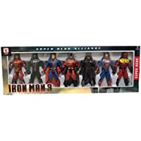 7 Pcs Super Hero Action Figure Set For Kids