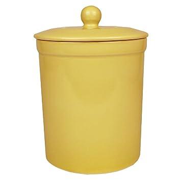 Amazon.de: Gelb, Melbury Komposteimer, Küche, Keramik, Kompost ...