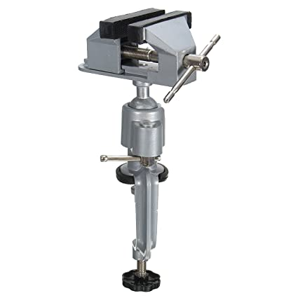 Vise Workbench Swivel 360 Rotating Clamp Table Top Deluxe Craft