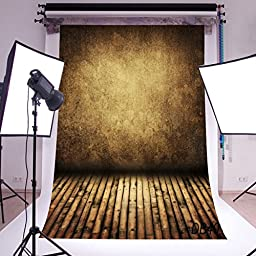 LB 10x20ft Reddish Brown Stage Vinyl Photography Backdrop Customized Photo Background Studio Prop DB40