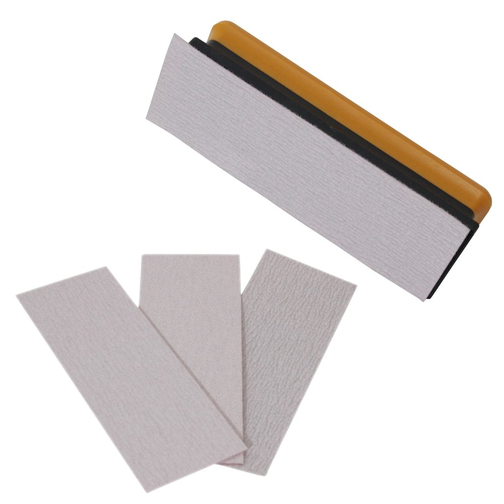 Bigman(ビッグマン) 日本製 マジックテープ式 平面型紙ヤスリホルダーセット 紙ヤスリ