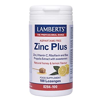 Lamberts Zinc Plus Lozenges Qty 100 Lozenes Amazon Co Uk Health