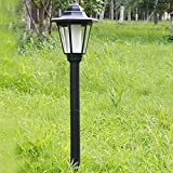 DMMSS Die-cast aluminum led Solar energy Column light outdoor Wall villa Outdoor Light