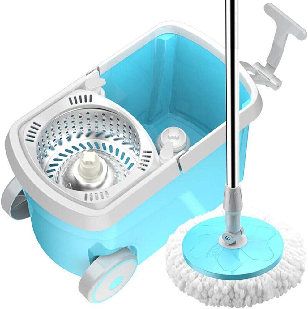 Lwieui Fregonas Acero Inoxidable 360 Spinning Mop Bucket Sistema ...