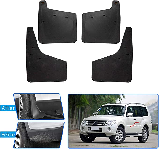 Upgraded Car Mud Flaps Mudguards for BMW F07 5 Series GT 2011-2016 Front Rear Splash Guards Car Fender Styling /& Body Fittings Black 4Pcs