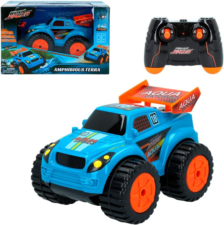 Amphibian RC Car Kool Speed 46281 COLORBABY