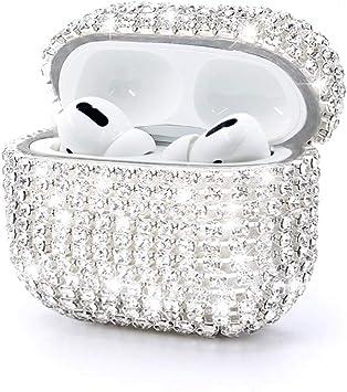 Amazon Com Ezicok Bling Diamond Airpods Pro Case Chic Fashion