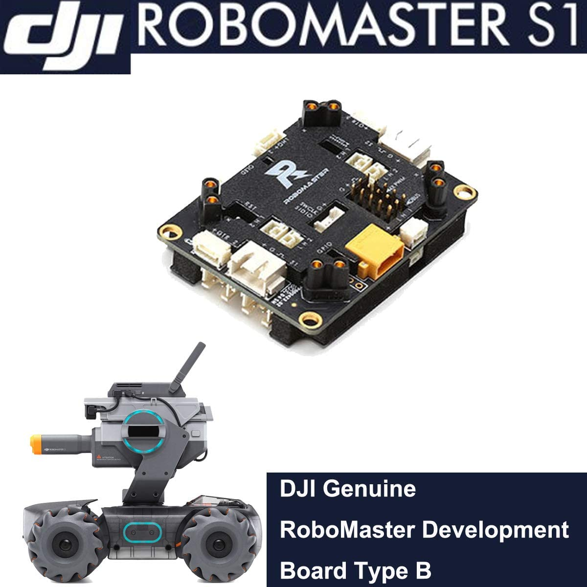 DJI Genuine M3508 P19 Brushless DC Gear Motor Huaye RoboMaster S1 Intelligent Educational Robot STEM Repair Parts Supplement Accessories Compatible with DJI Robomaster S1