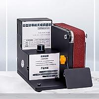 KKmoon Belt Sander, Micro Mini Electric Belt Sander Diy Polishing Grinding Machine Fixed Angle Sharpening Blade Bench Machines