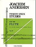 アンデルセン : 24の練習曲 作品33 (フルート練習曲) カール・フィッシャー出版