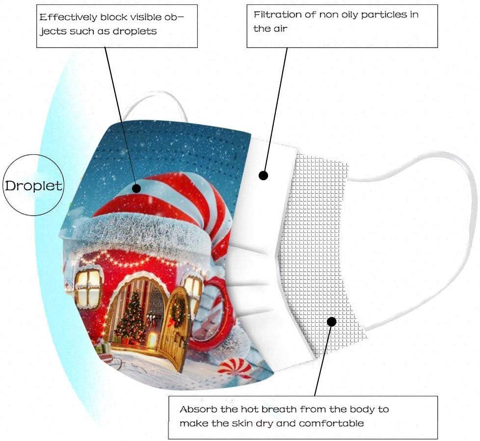 Tre Strati protettivi per prevenire Polvere e Gocce NellAria Natale Cielo Stellato Universo Dinosaur Farfalla Rosa 50 Pezzi per Sacchetto Sacchetto Protettivo monouso per Adulti
