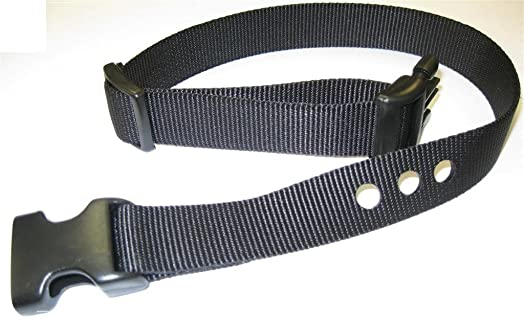 Grain Valley 1 Replacement Strap, Color Black. Sold Per Each. Fits Most PetSafe Bark Collars and Many Containment Collars. No-Bark Collars Accessories
