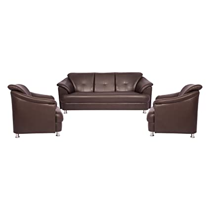 Woodmark Sentiyago Sofa Set 3 1 1(Brown)