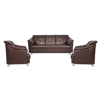 Woodmark Sentiyago Sofa Set 3 1 1(Brown)