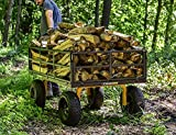 Gorilla Carts GOR1400-COM Heavy-Duty Steel Utility