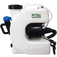 Petra Electric Fogger Atomizer Backpack Sprayer - 4 Gallon Mist Blower with Extended Commercial Hose for Pest Control & Sanitation Spraying - Insect, Bug & Mosquito Fogger (Backpack Sprayer)