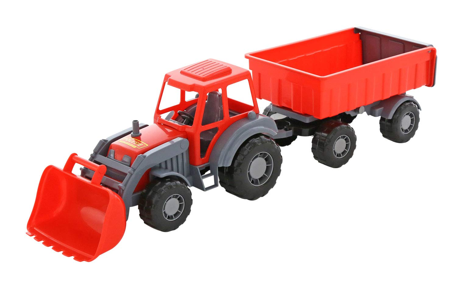 Wader Altay Tractor and Trailer with Frontloader (Colors may vary) PP POLESIE JV LTD. Polesie_35349