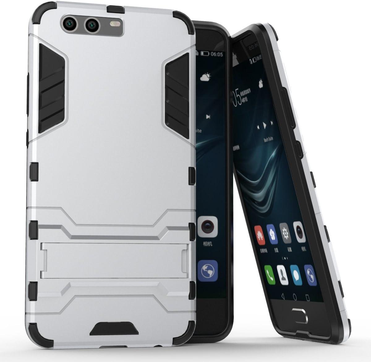 Xiaomi Mi 6 Case, AVIDET Shock Absorption i Anti-scratch PC + TPU Back Cover dla Xiaomi Mi 6 (srebrny)