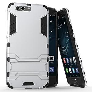 Xiaomi Mi 6 Case, AVIDET Shock Absorption and Anti-scratch PC + TPU Back Cover for Xiaomi Mi 6 (Silver)