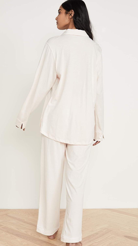 Skin Womens Paulina Long-Sleeve PJ Set