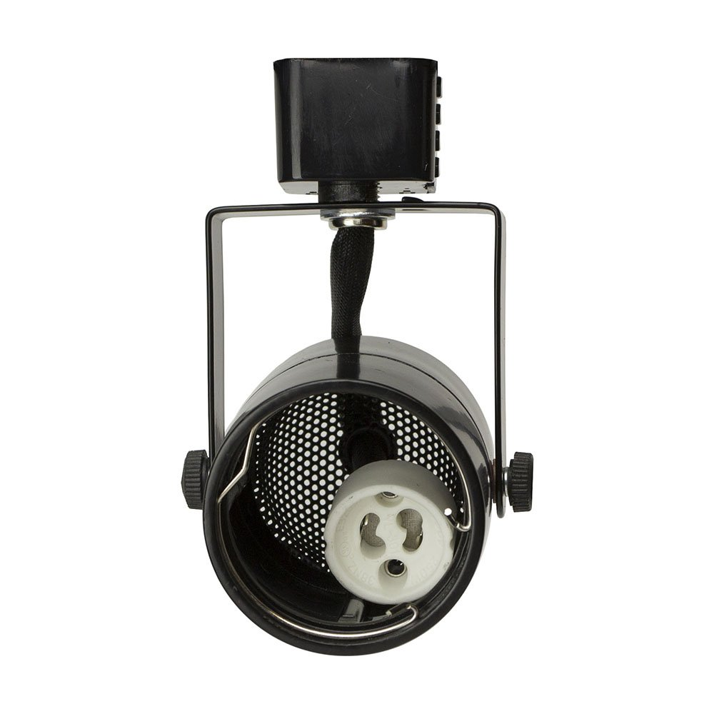 D&D Brand H System GU10 Line Voltage Track Lighting Fixture Black HA-4519-BK ( No Bulb )