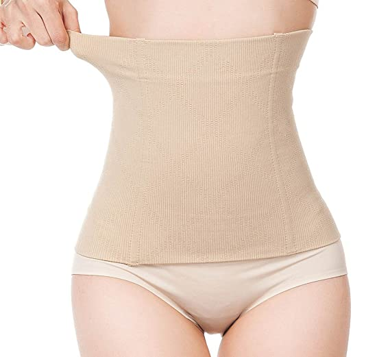 6b68b6a8e6815 Image Unavailable. Image not available for. Color  Waist Trainer Corset Tummy  Control Waist Cincher Weight Loss Shaper Fat Burner Workout Shapewear