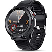 1.3inch Full Touch Screen Smartwatch, LED Lighting Call Refusing Weather Information Multi-function Wrist Watches,Sports…