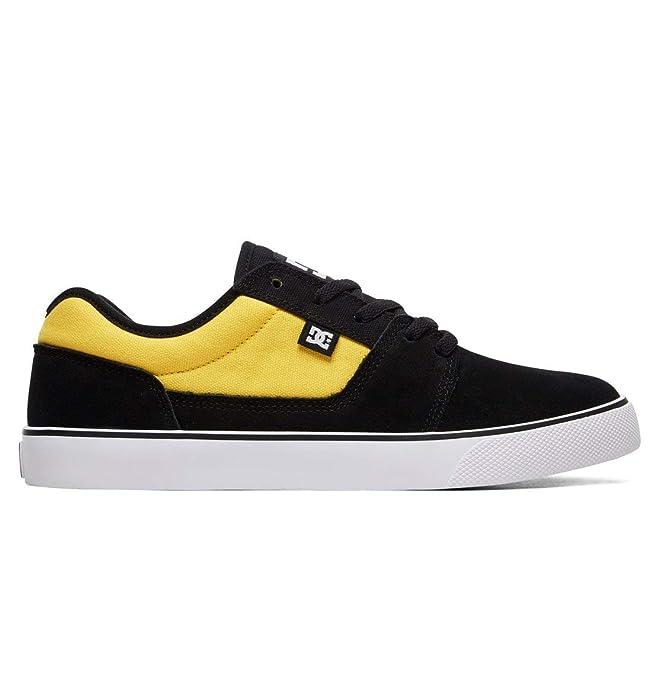 DC Shoes Tonik Sneakers Skateboardschuhe Herren Damen Unisex Erwachsene Gelb/Schwarz