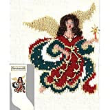 Elegant Heirlooms Christmas Stocking Kit Arielle Angel (Blonde or Brunette)