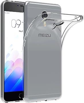AICEK Funda Meizu M3 Note, Meizu M3 Note Funda Transparente Gel Silicona Meizu M3 Note Premium Carcasa para Meizu M3 Note: Amazon.es: Electrónica