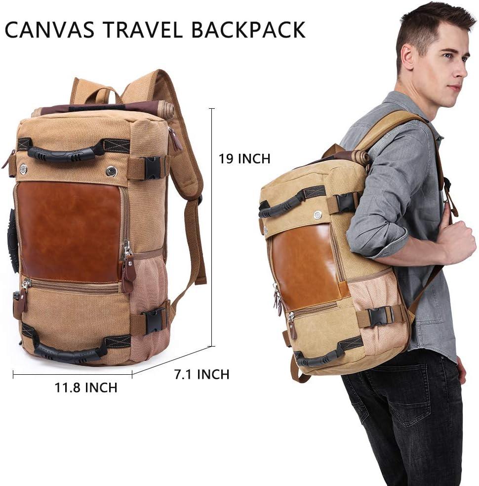 KAKA Wear-resistant Durable Backpack,Duffle Bag Travel Carry On Backpack